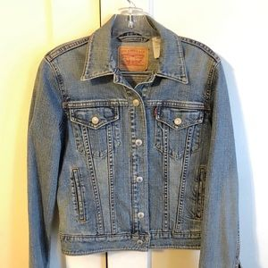 Levi Strauss Medium Wash Denim Jacket
